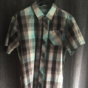 Zoo York casual button down shirt large